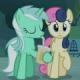 Lyra (🎼, 🦄) & Bon-Bon (🅱️, 🍬)